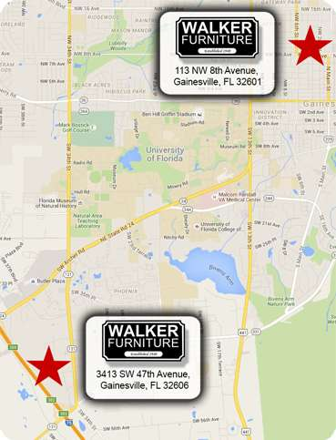 Walker Furniture Locations in Gainesville, Florida